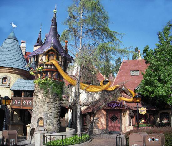 """Disneyland Resort Paris - Estreno Mundial de """"Enredados"""" (Rapunzel ..."""