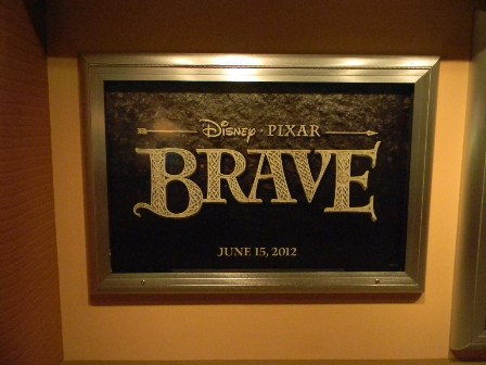 pixar brave. Pixar#39;s #39;Brave#39; Poster