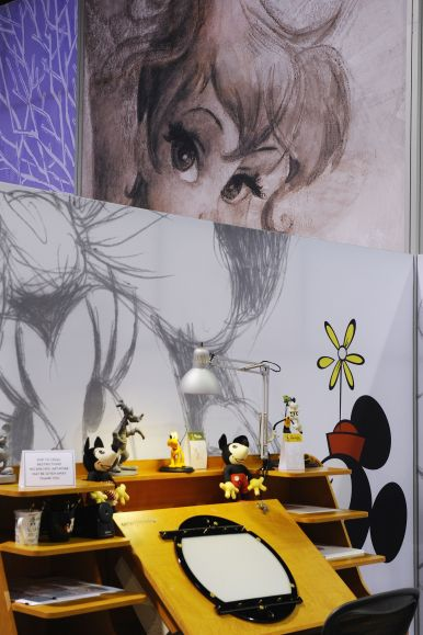 D23expo-animators-desk2