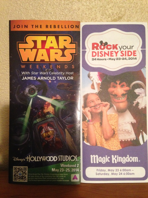 Star Wars Weekends & Rock Your Disney Side 24 Hour Party Signed
