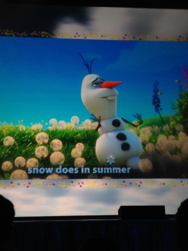 Frozen Summer Fun Live55