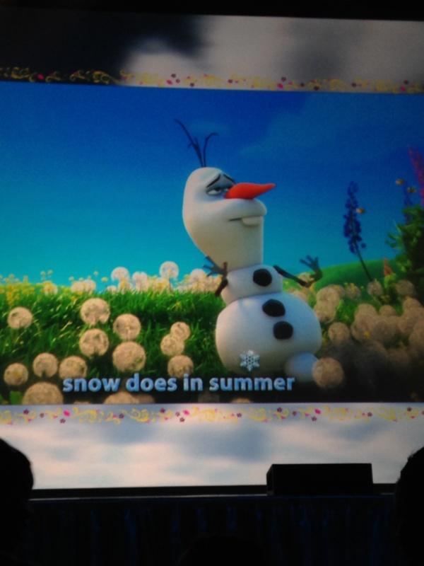 Frozen Summer Fun Live55