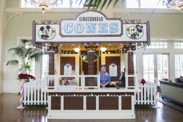 Jersey Shore-Inspired Gingerbread Stand Serves Up Holiday Treats at Disney's BoardWalk Inn