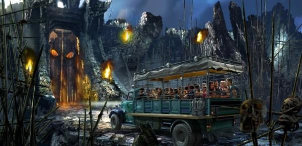 Skull Island Reign Of Kong universal orlando