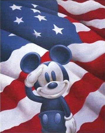 Mickey Mouse - Fourth of July