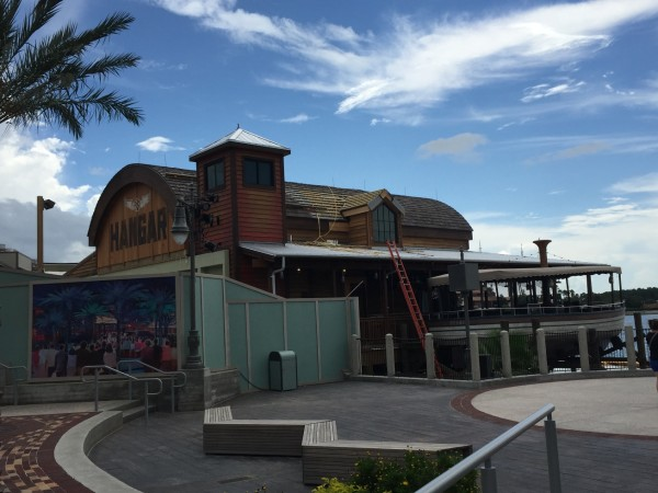 The Hangar COnstruction Downtown Disney (6)
