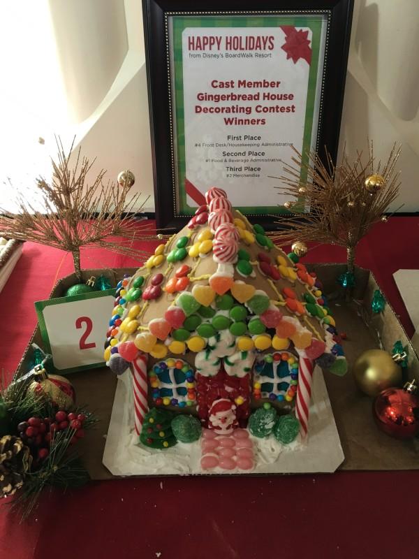 WDW Christmas Boardwalk Cast Member Gingerbread Houses (3)