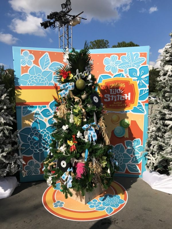 take a look at the character christmas trees along the christmas tree trail at disney springs - Disney Christmas Trees