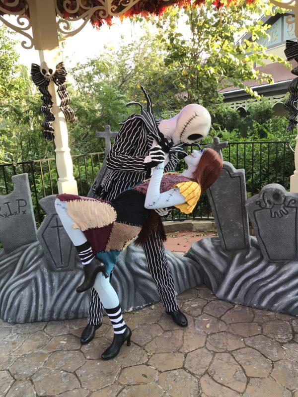 Halloween Jack Skellington Scary.Photos Jack Skellington Sally Meet And Greet Area During
