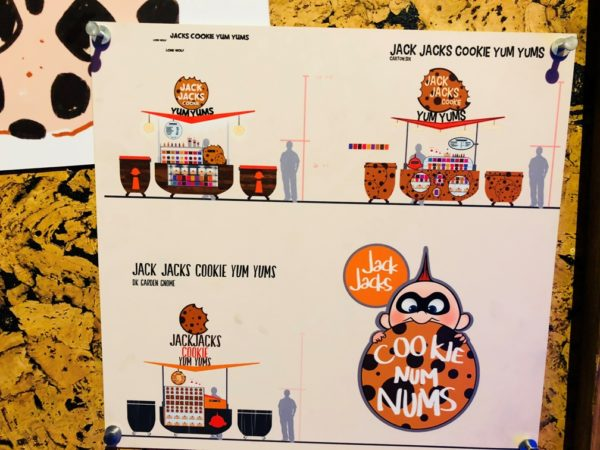 Concept Art Creative Details The Incredibles Jack Jack S Cookie Yum Yums At Blue Sky Cellar At Disney California Adventure Wdw Daily News